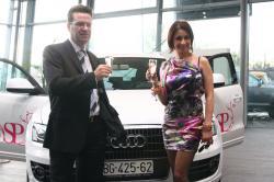 Suzana Perić - promoter automobila Audi Q5